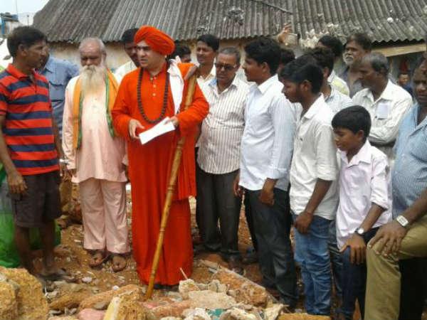 Goa Government Should Give Land To All Kannadigas In Goa Mrityunjaya Swamiji