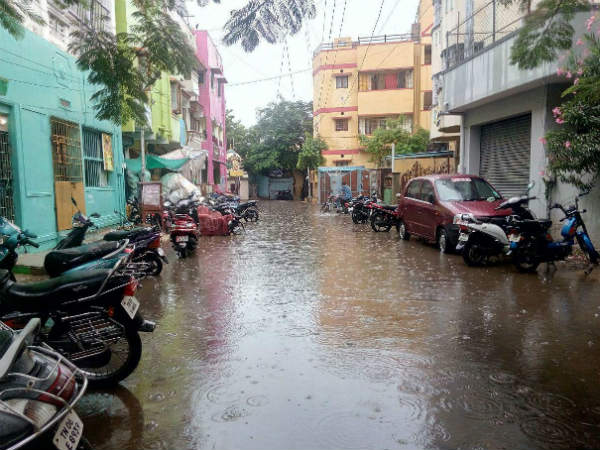 Heavy rain in Tamil Nadu, One dead in Thanjavur, schools and colleges shut on today in Chennai