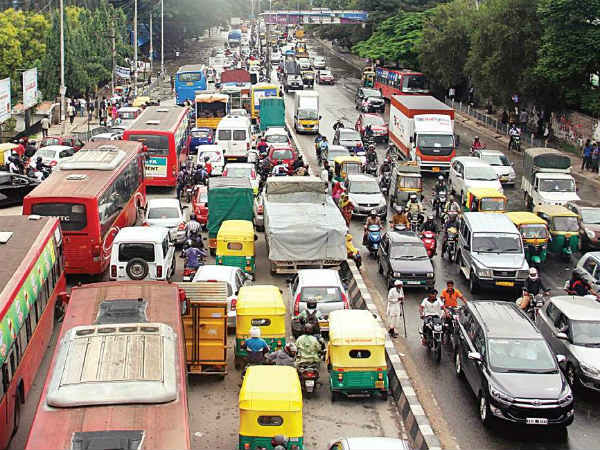 The Silence Of Mesmerizing Bengaluru Traffic