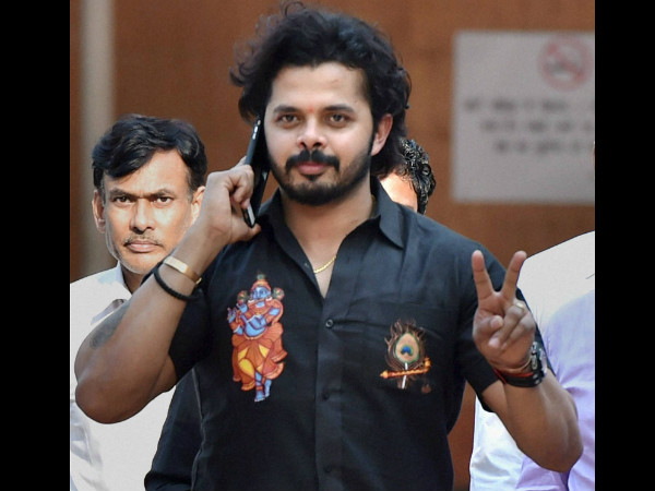 Stung by life ban, S Sreesanth hints he might play for another country