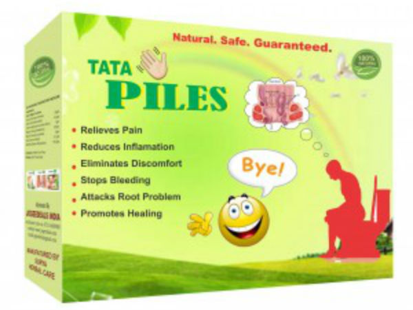 Ayurvedic product Tata Piles to remove all problems