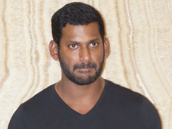 GST intelligence agency raids Tamil actor Vishal