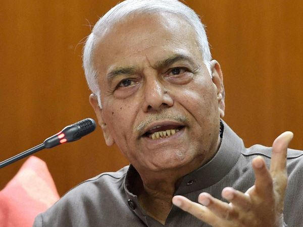 Former central minister Yashwant Sinha Alleges Many BJP Lapses In Handling Jay Shah Case