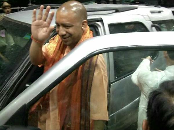 Uttar Pradesh Cm Yogi Adityanath Arrival At Mangaluru Airport