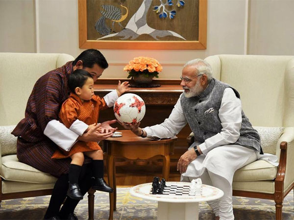 Guess What Modi Gave The Young Prince Of Bhutan