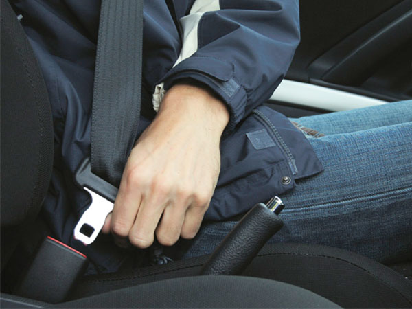 Bangaloriens are in first place for Not wearing seat belt