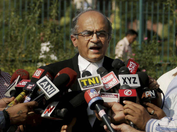 Judge Loya Did Not Die Heart Attack Sc To Hear Application Prashant Bhushan