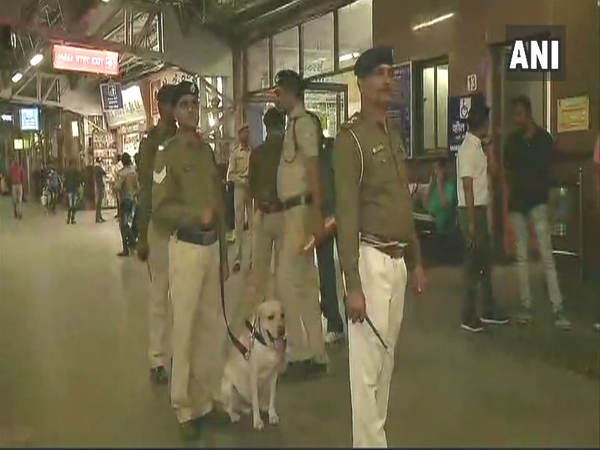 Bomb Threat At Ahmedabad Railway Station Bomb Disposal Squad In Spot