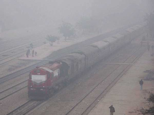 Trains Delayed 3 Cancelled Due To Low Visibility In Delhi