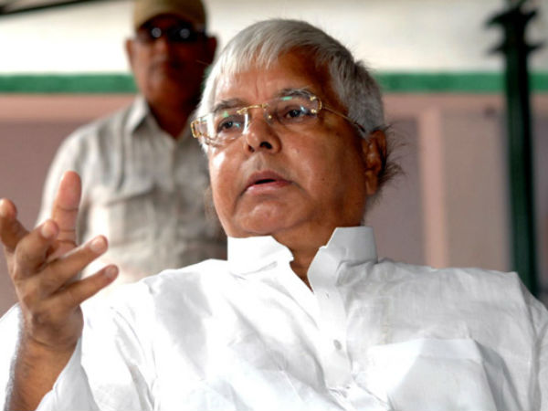 Centre withdraws RJD chief Lalu Prasad Yadav's 'Z+' NSG security cover