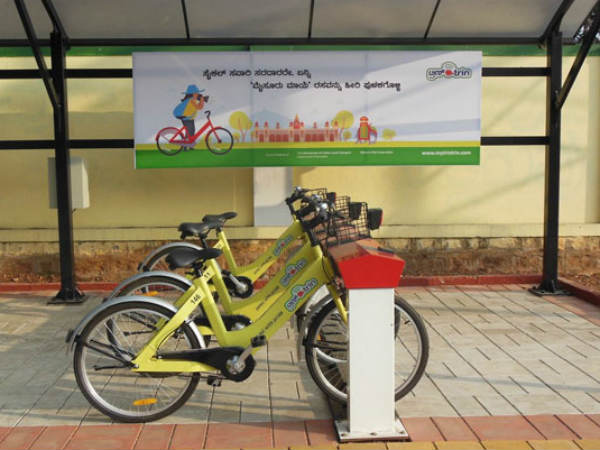 Tri Trin of Mysuru, the best public bicycle sharing system in India.