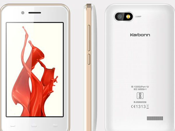 Smartphones Under Rs 2 000 Airtel Karbonn Launch A1 Indian A41 Power