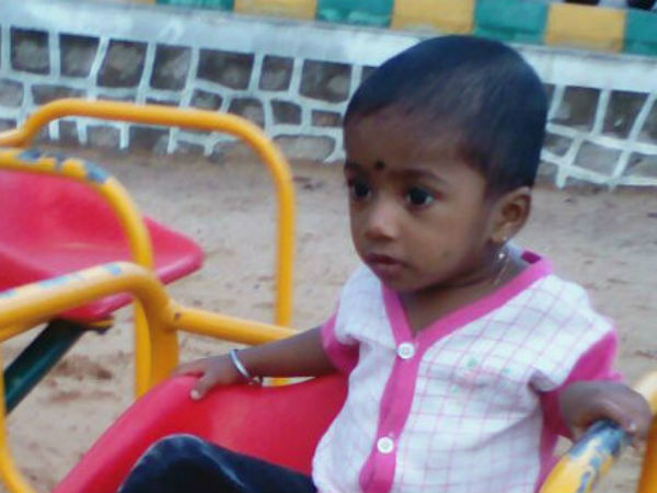 1.5 year child died after meting with accident by municipality van
