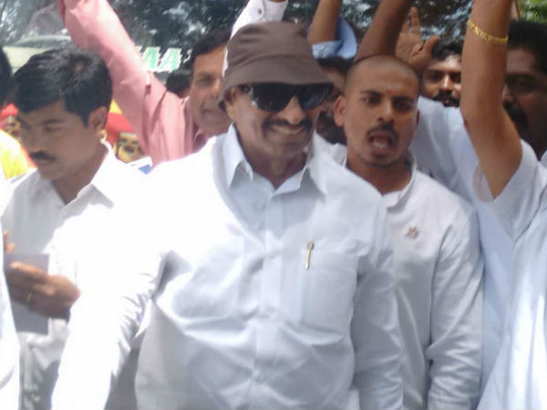 Vatal Nagaraj Did Strike Against Mla S Belagavi
