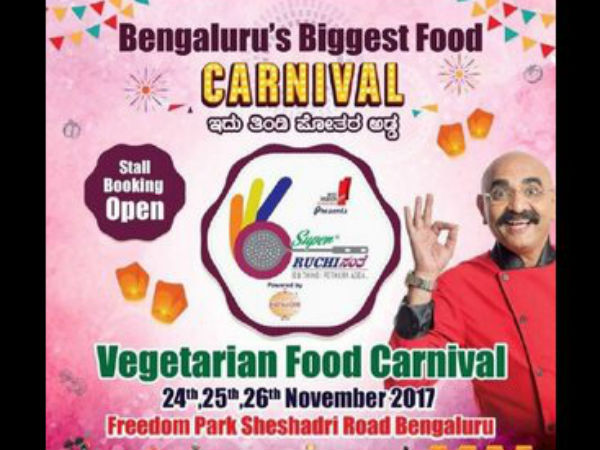 Foodies will have great festival in Bengaluru