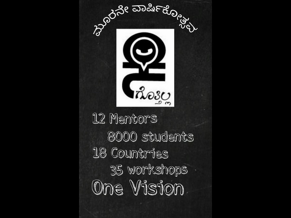 Want to learn Kannada language? Come to Kannada Gottilla