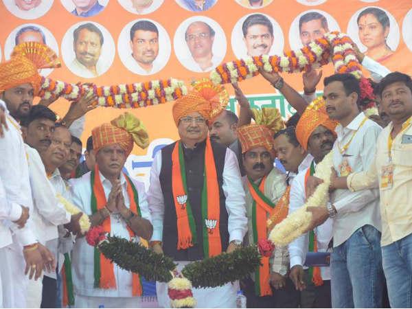 ಬೆಳಗಾವಿ : ಪರಿವರ್ತನಾ ಯಾತ್ರೆಗೆ ಬಂದ್ರು ಛತ್ತೀಸ್ಗಢ ಸಿಎಂ