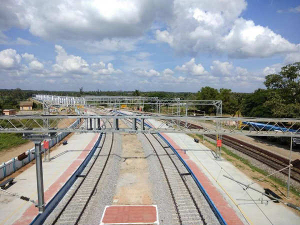 In Pics Bengaluru Mysuru Railway Double Line Commissioned