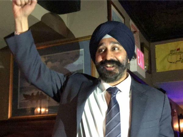 Ravinder Bhalla champions racism becomes first Sikh mayor of Hoboken, New Jersey