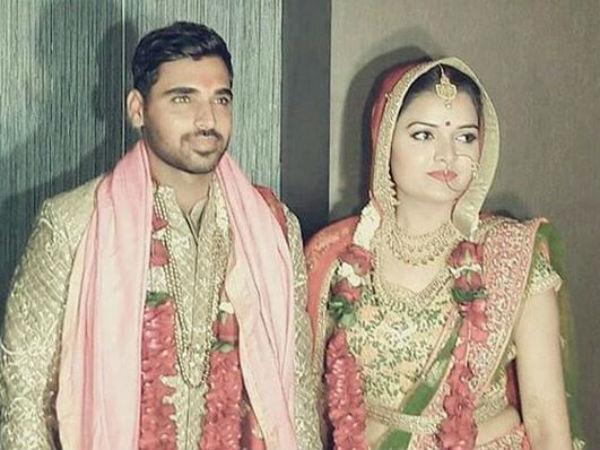 Photos Bhuvneshwar Kumar Marries Nupur Nagar