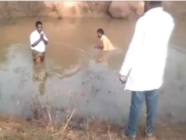 Telangana Bjp Leader Humiliates Dalits Police Booked Case