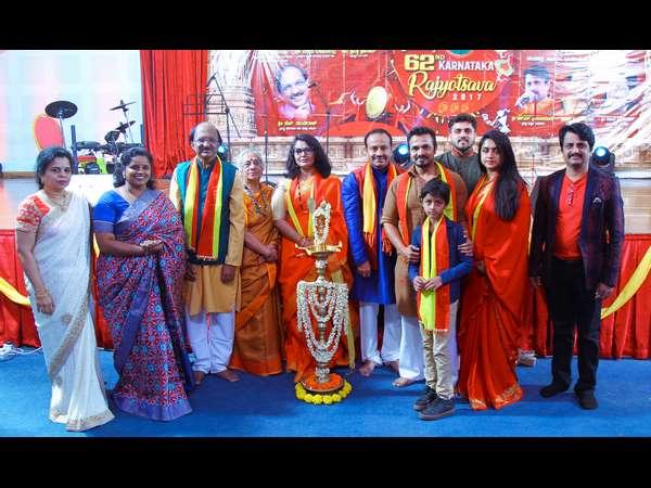 B Jayashree Dundiraj In Kannada Rajyotsava Qatar