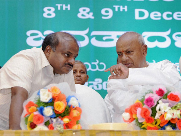 Jds Nation President Devegowda Organised 'Homa' in Hassan