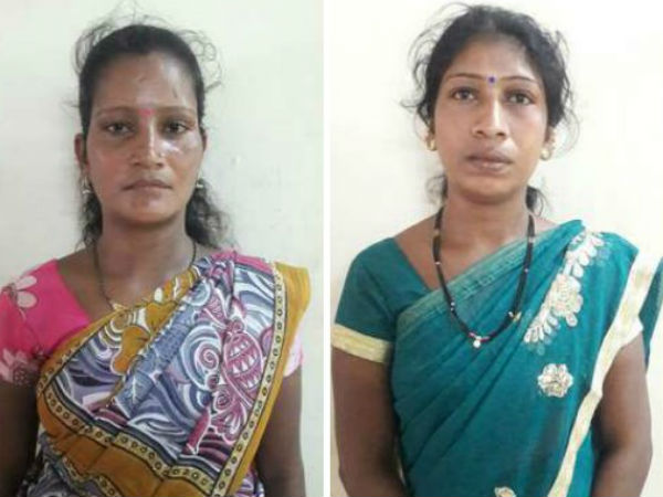 CCB Police Arrests Two Women House Burglars