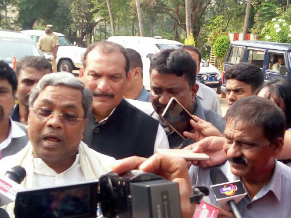 There is no complete liquor ban in the state: Siddaramaiah