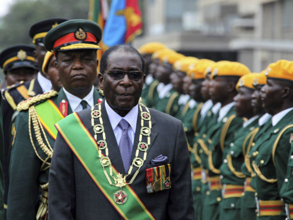 Robert Mugabe has resisted mounting pressure to step down