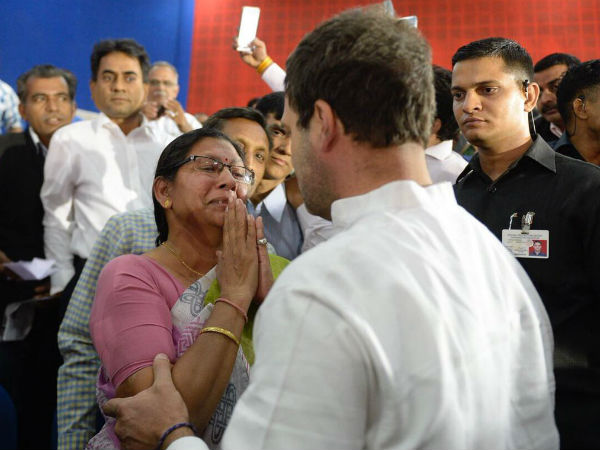 Rahul Hugs Lecturer After Listening to Her Problems