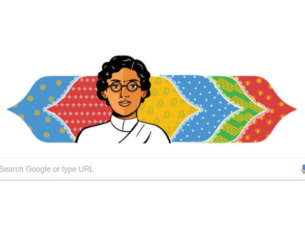 On Nov 11th Google doodle remembers Anasuya Sarabhai, a pioneer of the women's Labour movement in India