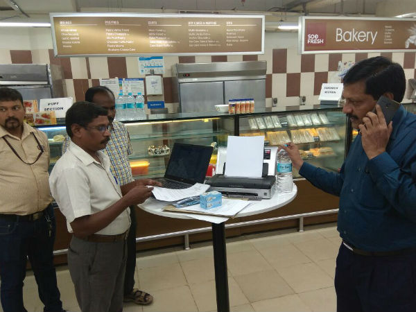 GST rate irregularity, complaint registered against shops