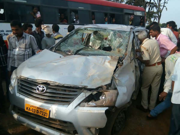 A man dies after a tragic accident, which took place near Hunsur road in Mysuru