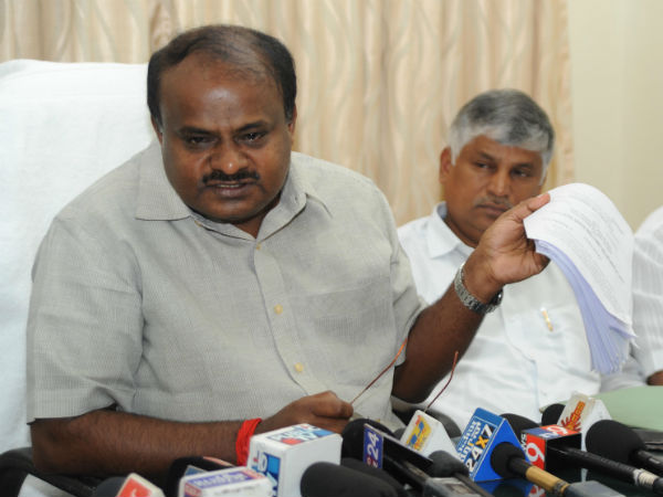 HD Kumaraswamy supports doctors one day strike