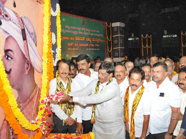Tipu Jayanti celebrated amidst thick security blanket in Mysuru