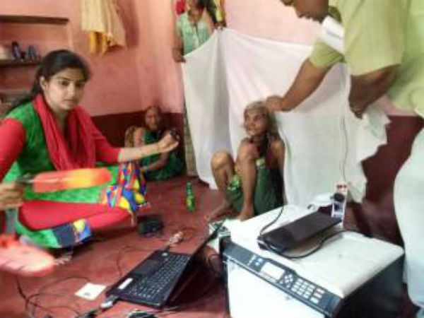 Uttara Kannada: Aadhaar registration at home for disabled persons