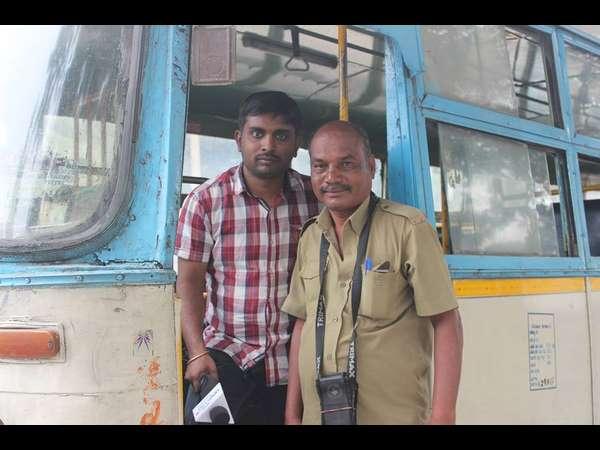 Meet Famous Kannda Condutor Of Bmtc Chandre Gowda