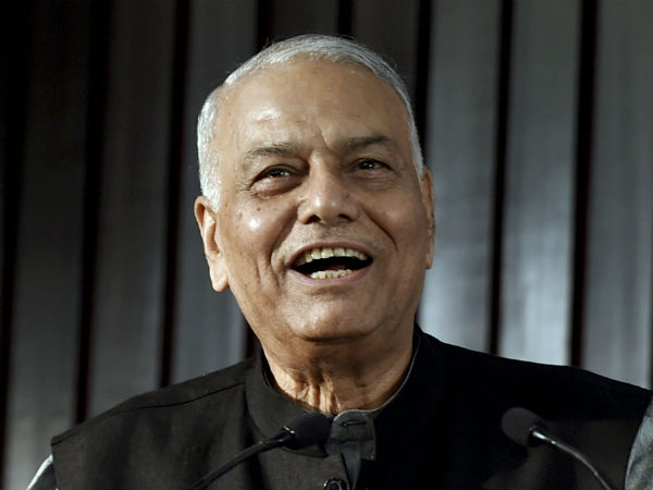 Yashwant Sinha to speak in poll bound Gujarat on Congress' invitation