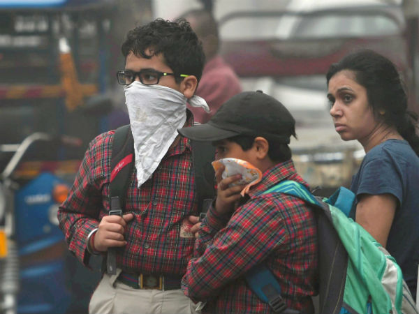 Delhi Air Quality Worsens Schools Shut Till Sunday