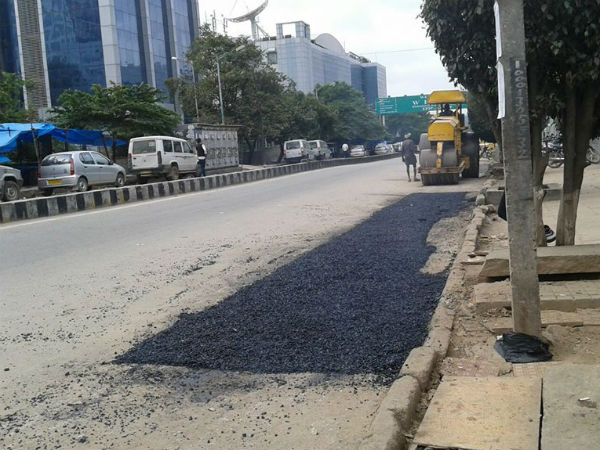 BBMP has been rapidly repairing the roads. do Support : G Parameshwar