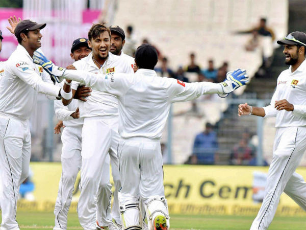 India Vs Sri Lanka Kolkata Test Day 2 Match Report