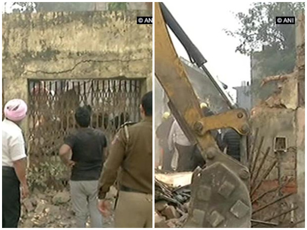 60-year-old building collapses in Delhi
