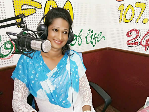 Transgender Kajal Debut As First RJ in FM Radio Sarang