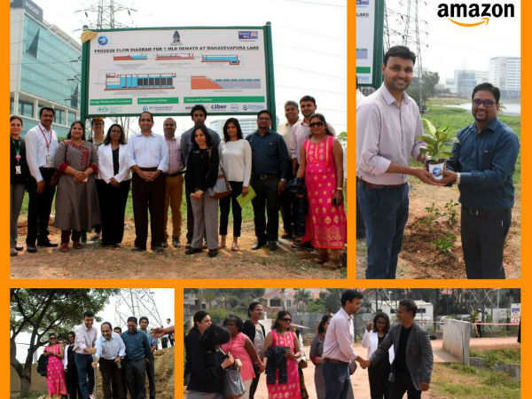 Amazon joins hands with United Way Bengaluru & BBMP to construct an eco-friendly STP