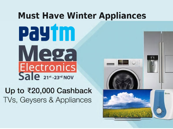 Spin The Winter Wheel! With Paytm's Rs.20000 Cashback