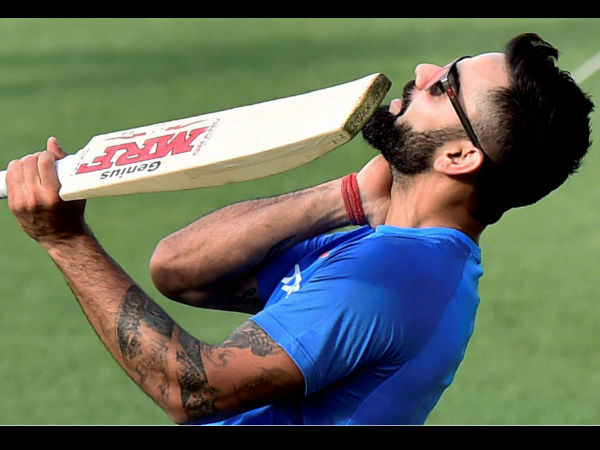 Virat Kohli Rushes Help Tv Crew Hit Ball