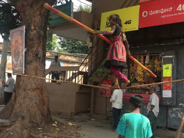 A Poor Girl Mysuru Has Been Not Going To Celebrate Children S Day