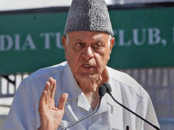 Forget Pok Raise Indian Flag In Srinagar First Farooq Abdullah