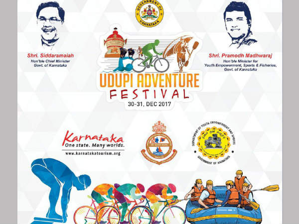 Adventure Festival in Udupi on Dec 30 and 31